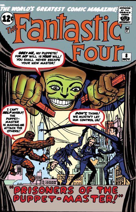 Couverture de True Believers: Fantastic Four (2019) - Fantastic four: Prisoners of the Puppet-master!