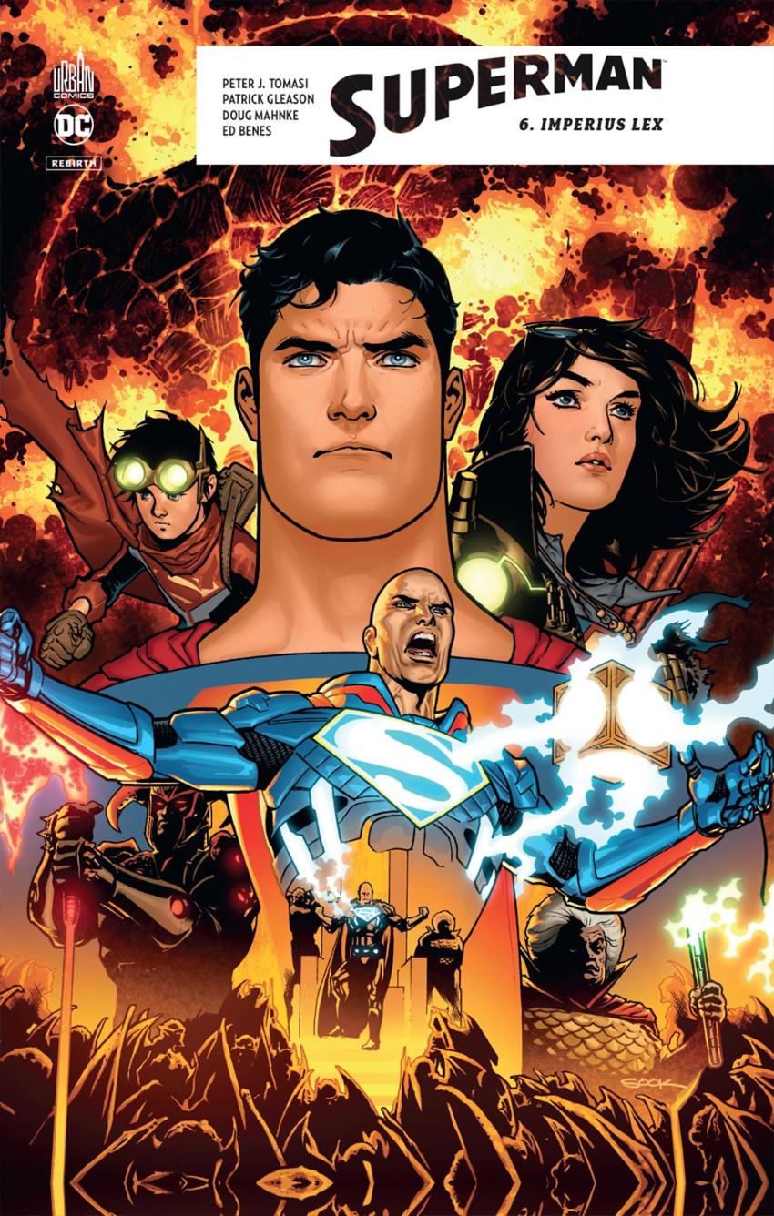 Couverture de Superman Rebirth -6- Imperus lex