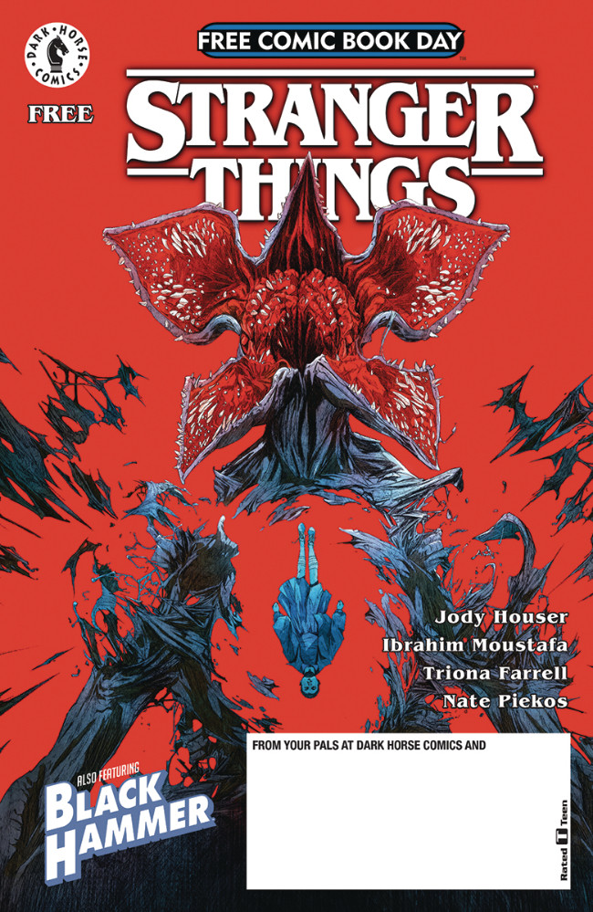 Couverture de Free Comic Book Day 2019 -3- Stranger Things