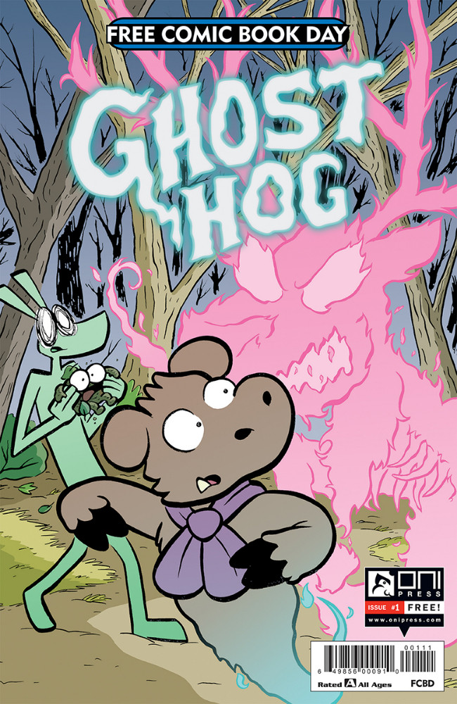 Couverture de Free Comic Book Day 2019 - Ghost Hog