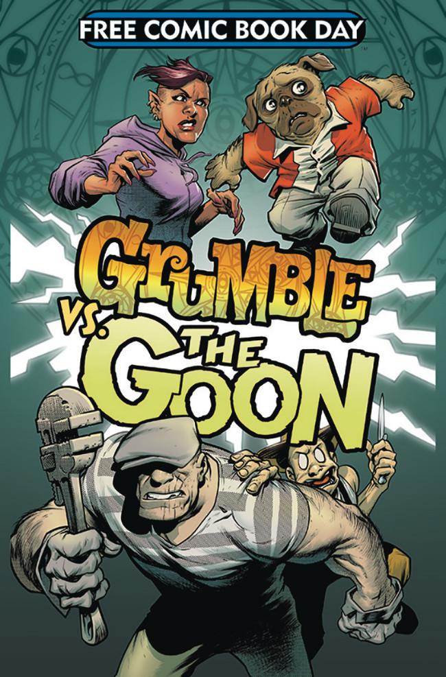 Couverture de Free Comic Book Day 2019 -15- Grumble vs The Goon