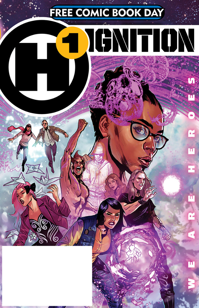 Couverture de Free Comic Book Day 2019 -32- H1 Ignition