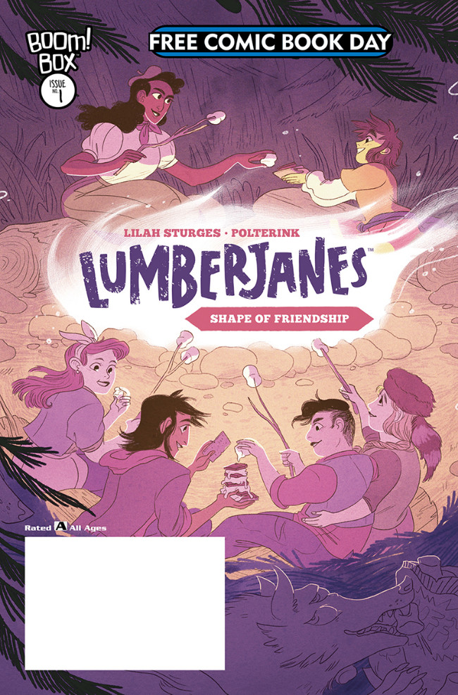 Couverture de Free Comic Book Day 2019 -20- Lumberjanes Shape of Friendship