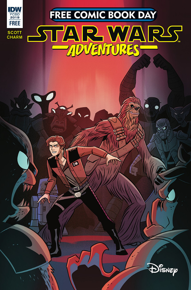 Couverture de Star Wars Adventures (2017) -FCBD- Star Wars Adventures - Free Comic Book Day 2019