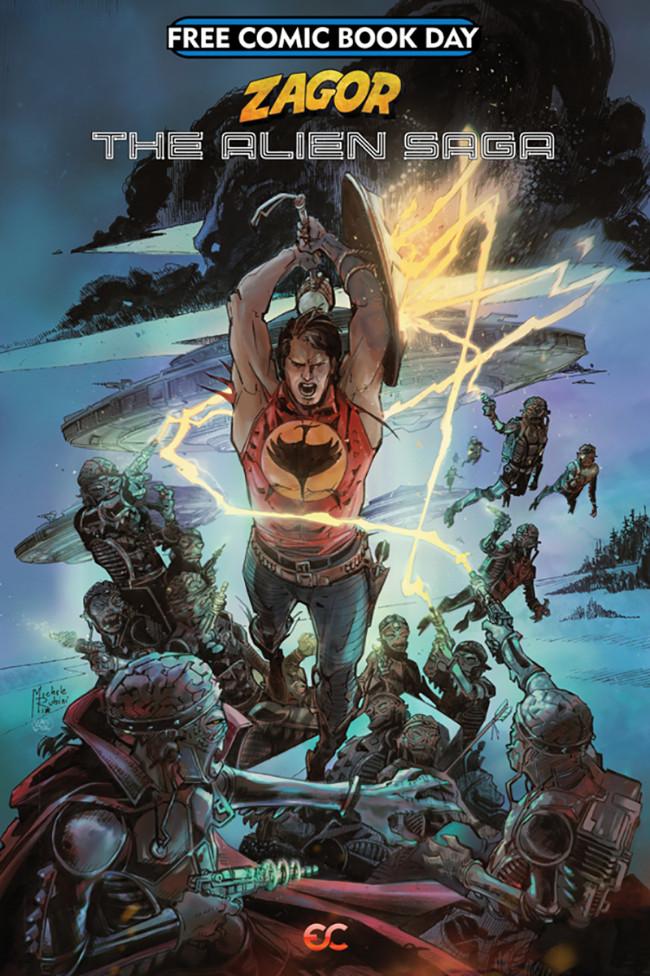Couverture de Free Comic Book Day 2019 -27- Zagor The Alien Saga
