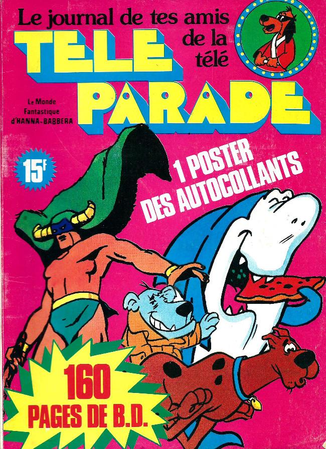 Couverture de Télé parade -Rec05- Album N°5 (du n°17 au n°20)