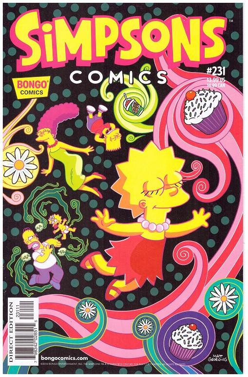 Couverture de Simpsons Comics (1993) -231- Bart The Rake