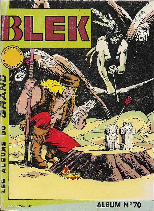 Couverture de Blek (Les albums du Grand) -Rec70- Album n°70 (du n°451 au n°453)