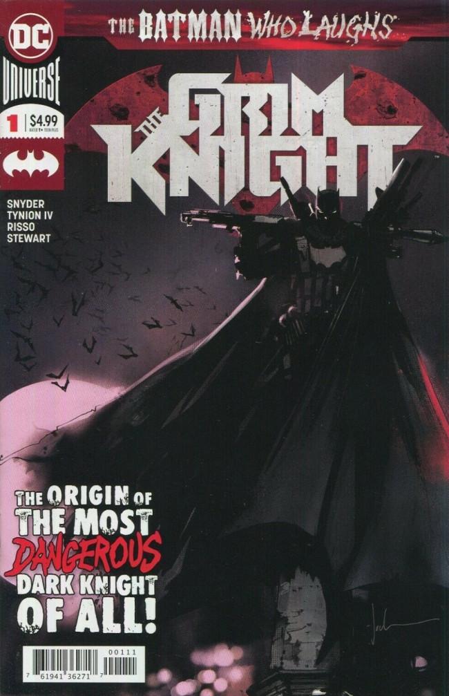 Couverture de Batman Who Laughs (The) (2019) -HS- The Grim Knight #1