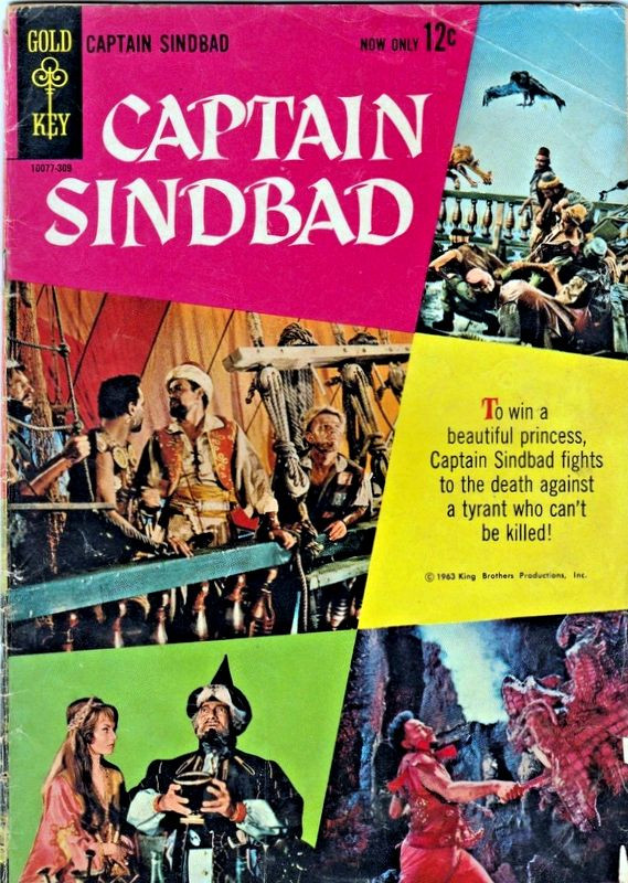 Couverture de Movie comics (Gold Key) -309- Captain Sindbad