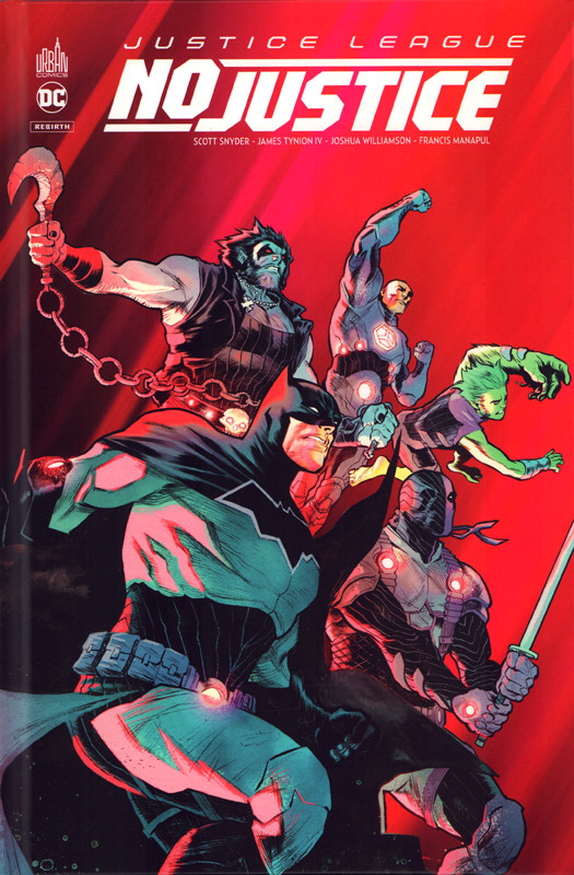 Couverture de Justice League : No Justice