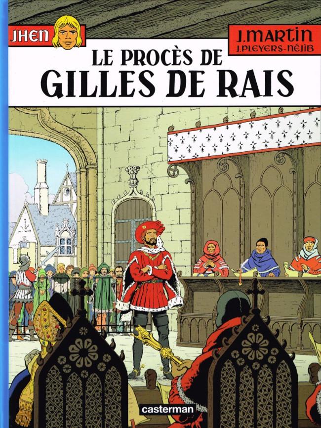 Couverture de Jhen -17- Le procès de Gilles de Rais