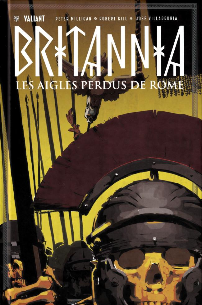 Couverture de Britannia -3- Les Aigles perdus de Rome