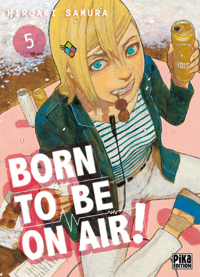 Couverture de Born to be on air ! -5- Tome 5