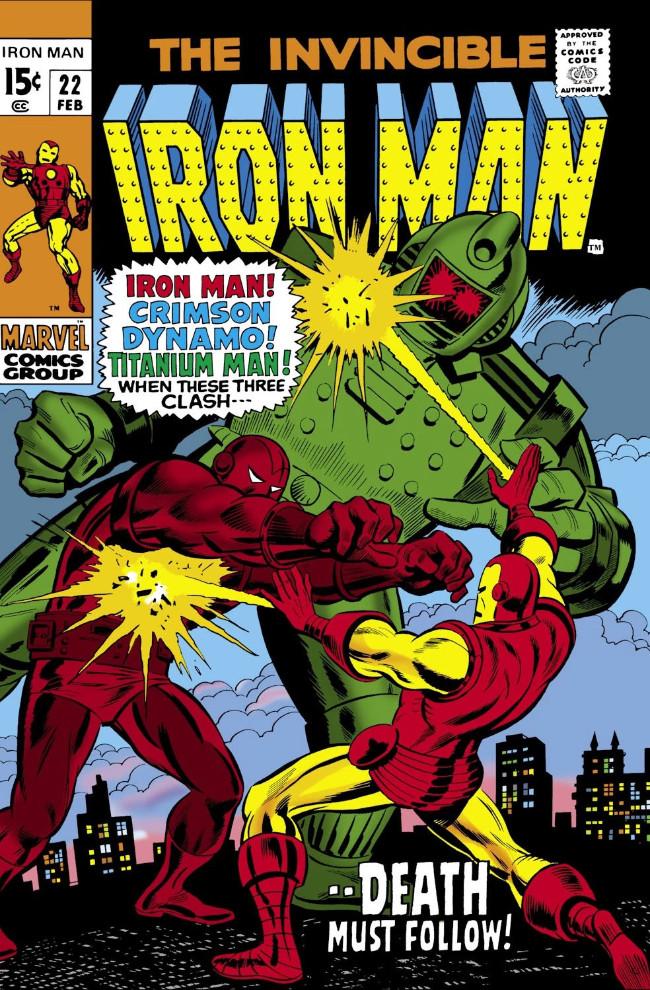 Couverture de Iron Man Vol.1 (Marvel comics - 1968) -22- From This Conflict...Death!