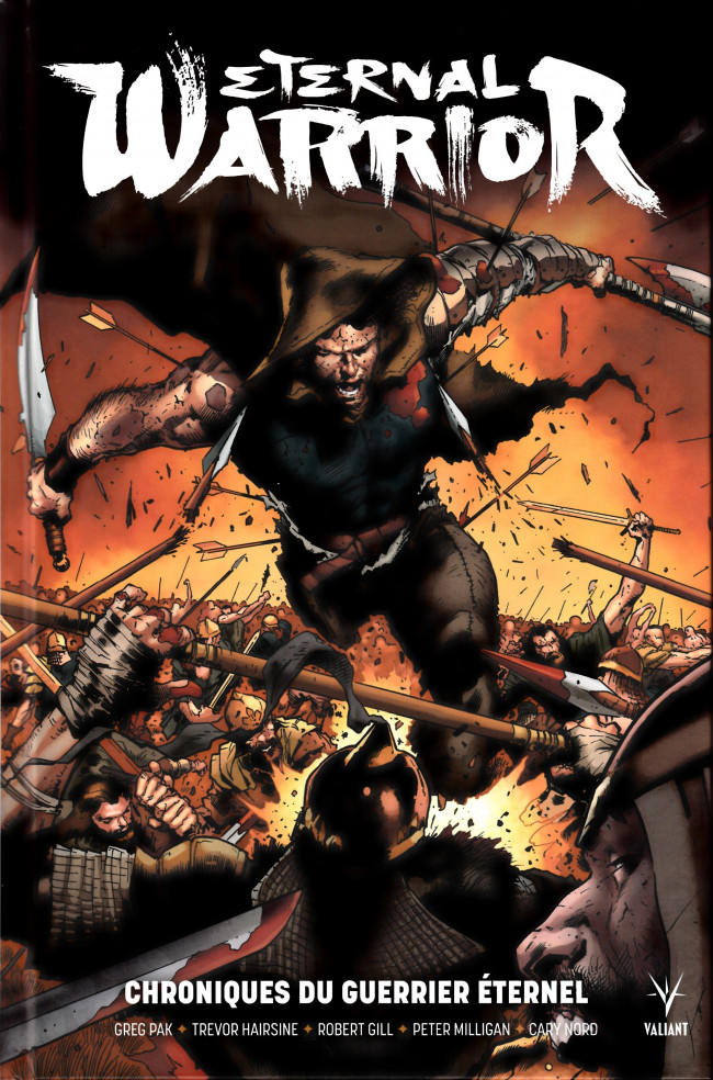 Couverture de Eternal Warrior : Chroniques du Guerrier éternel
