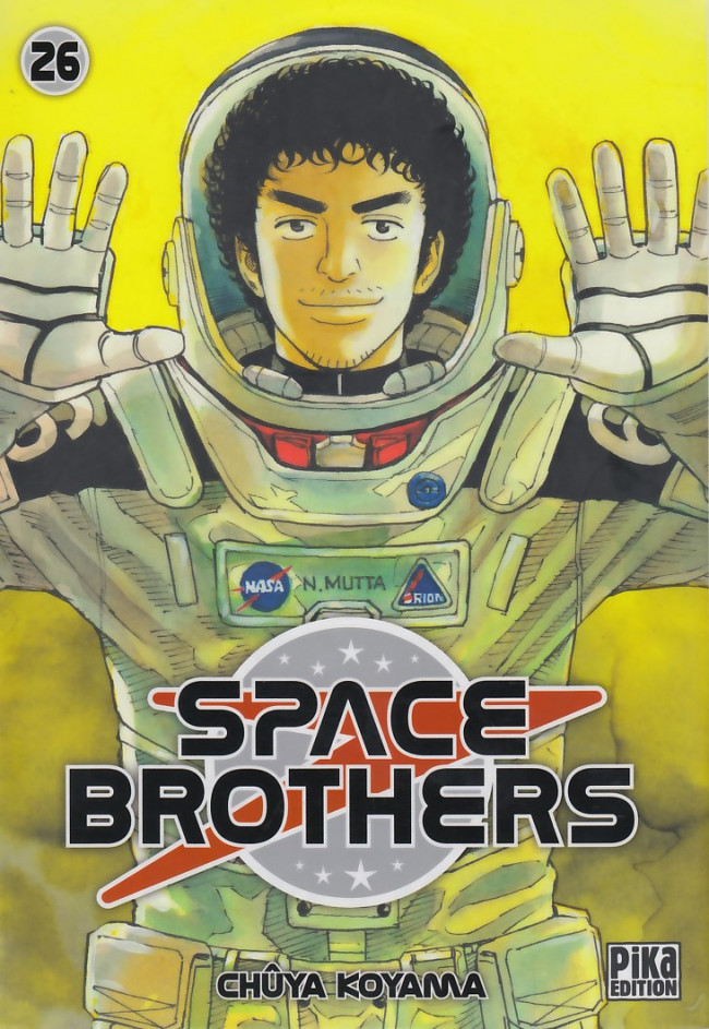 Couverture de Space Brothers -26- Tome 26