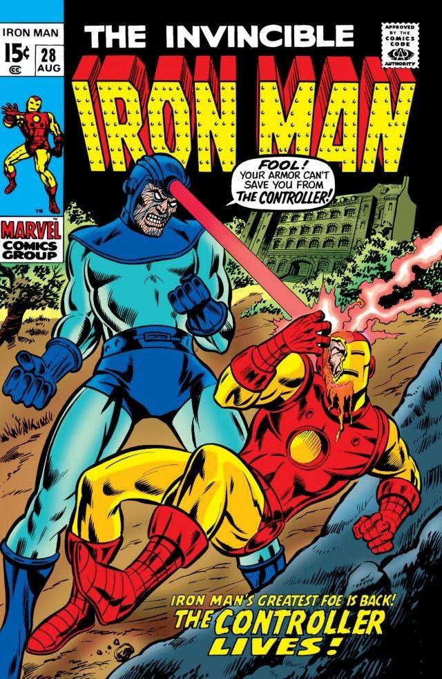 Couverture de Iron Man Vol.1 (Marvel comics - 1968) -28- The Controller Lives!