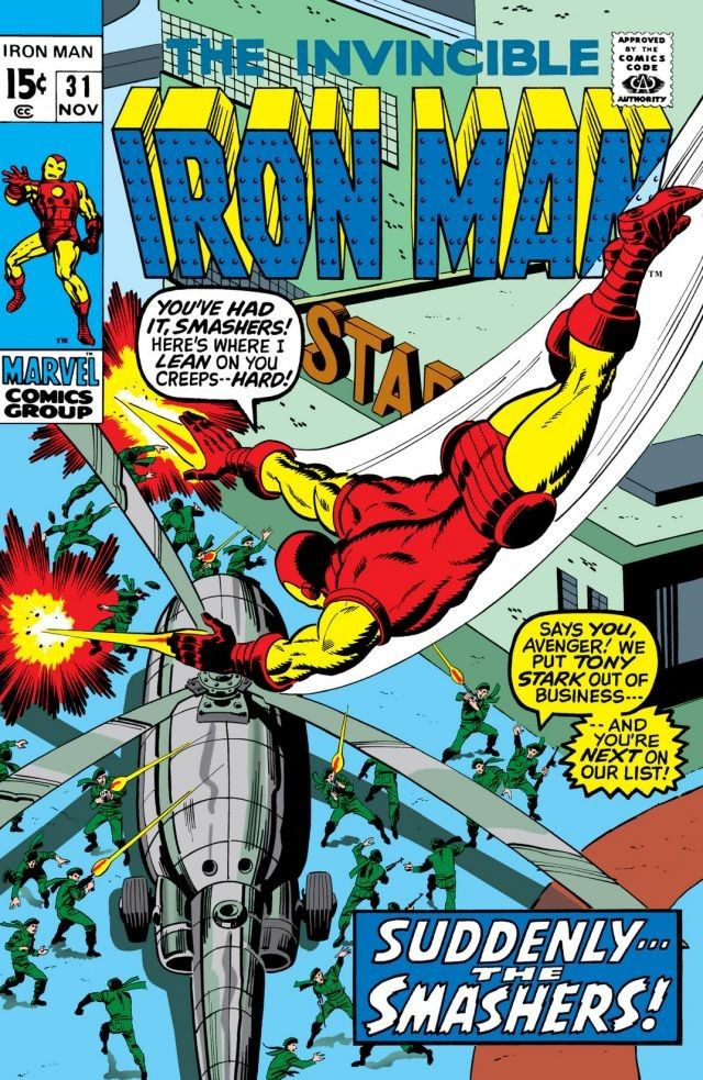 Couverture de Iron Man Vol.1 (Marvel comics - 1968) -31- Anything for the Cause!