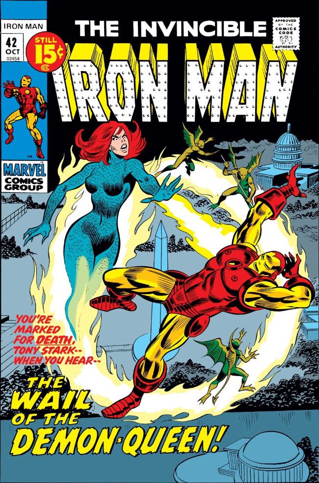 Couverture de Iron Man Vol.1 (Marvel comics - 1968) -42- When Demons Wail!
