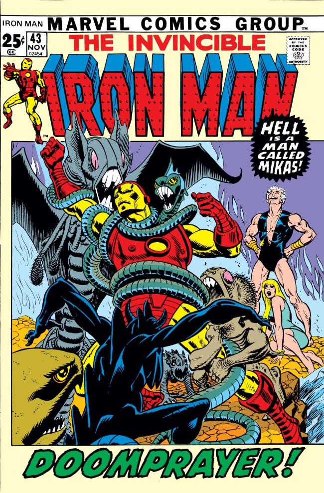 Couverture de Iron Man Vol.1 (Marvel comics - 1968) -43- Doomprayer!