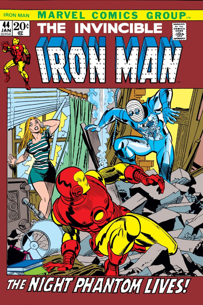 Couverture de Iron Man Vol.1 (Marvel comics - 1968) -44- Weep for a Lost Nightmare!