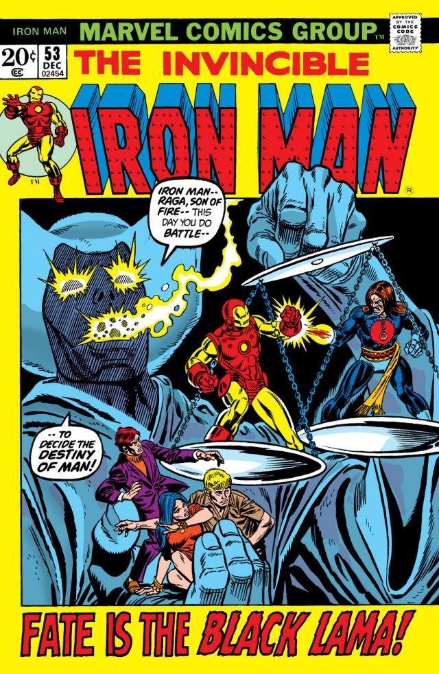 Couverture de Iron Man Vol.1 (Marvel comics - 1968) -53- The Black Lama!