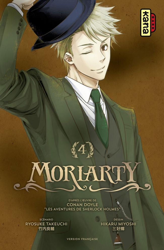 Couverture de Moriarty (Miyoshi) -4- Tome 4