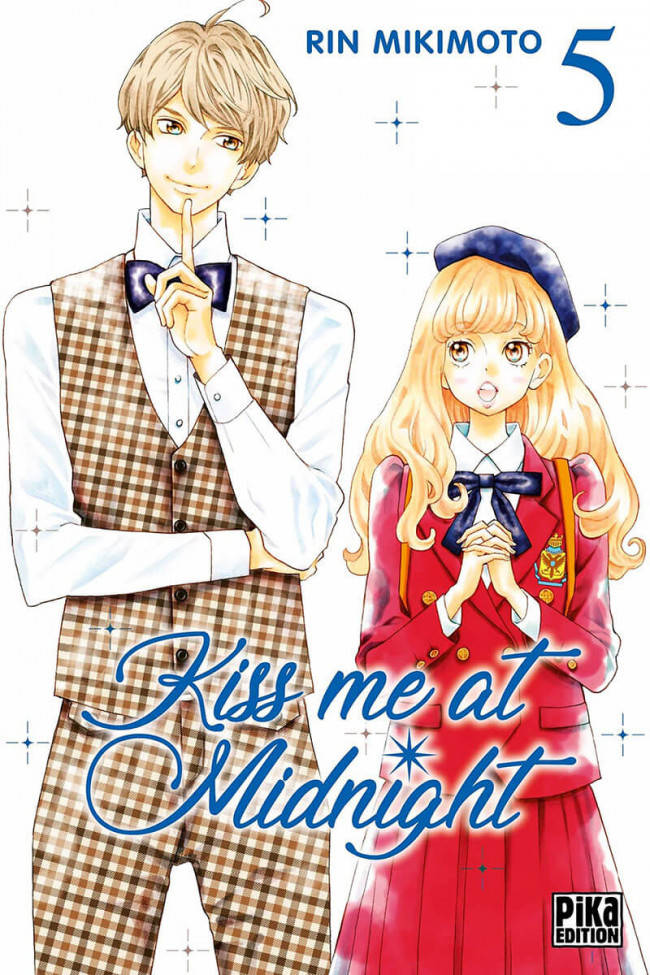 Couverture de Kiss me at Midnight -5- Tome 5