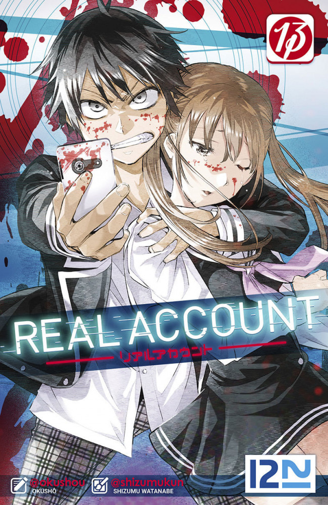 Couverture de Real Account -13- Tome 13