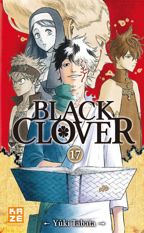 Couverture de Black Clover -17- Tome 17
