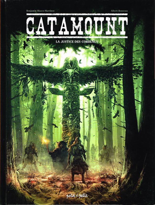 Couverture de Catamount -3- La justice des corbeaux