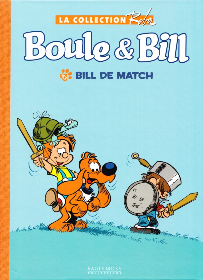 Couverture de Boule et Bill -15- (Collection Eaglemoss) -4316- Bill de Match