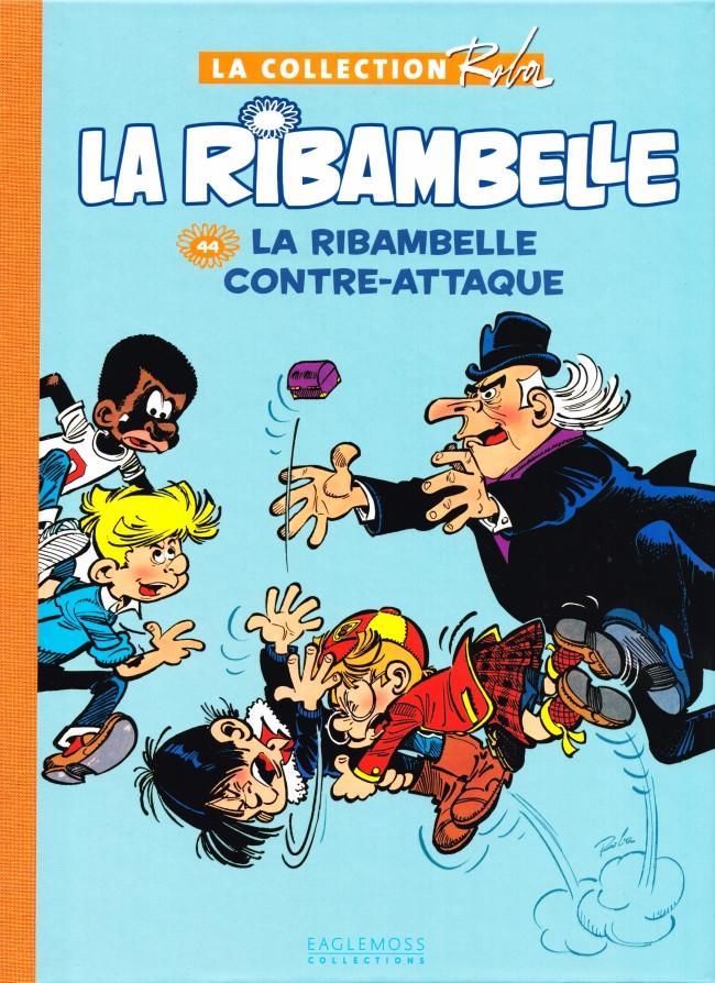 Couverture de Boule et Bill -15- (Collection Eaglemoss) -4424- La Ribambelle contre-attaque