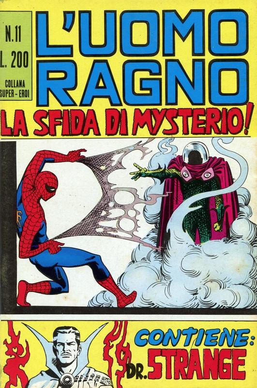 Couverture de L'uomo Ragno (Editoriale Corno) V1 -11- La Sfida di Mysterio!