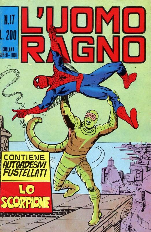 Couverture de L'uomo Ragno V1 (Editoriale Corno - 1970)  -17- Lo Scorpione