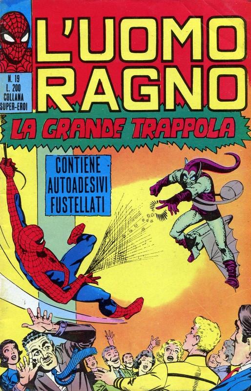 Couverture de L'uomo Ragno V1 (Editoriale Corno - 1970)  -19- La Grande Trappola