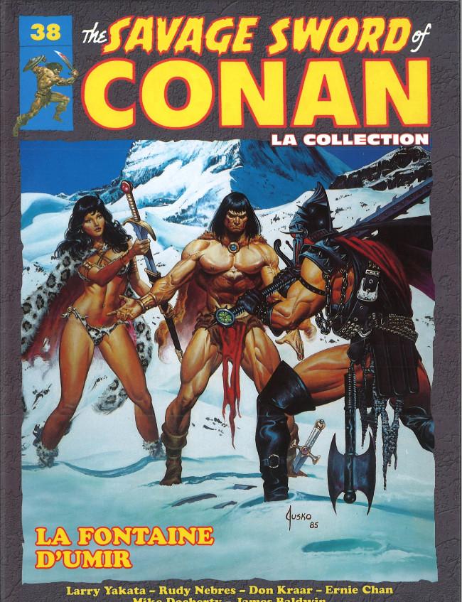 Couverture de Savage Sword of Conan (The) - La Collection (Hachette) -38- La fontaine d'Umir