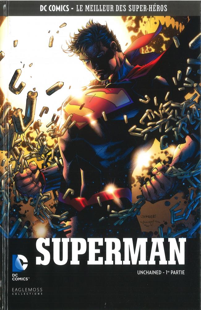 Couverture de DC Comics - Le Meilleur des Super-Héros -93- Superman - Unchained 1ère PArtie