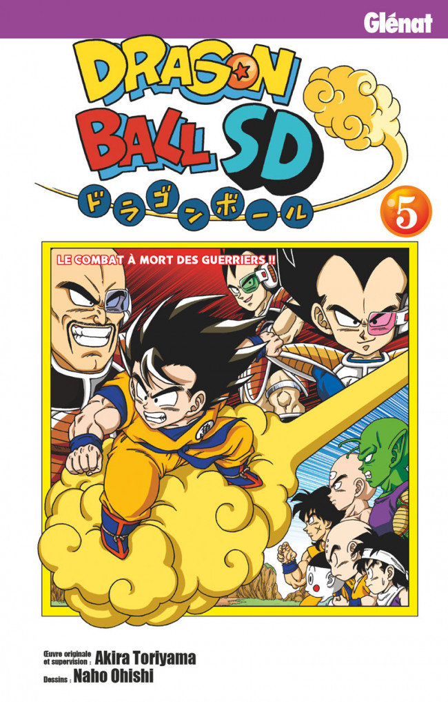 Couverture de Dragon Ball SD -5- Tome 5