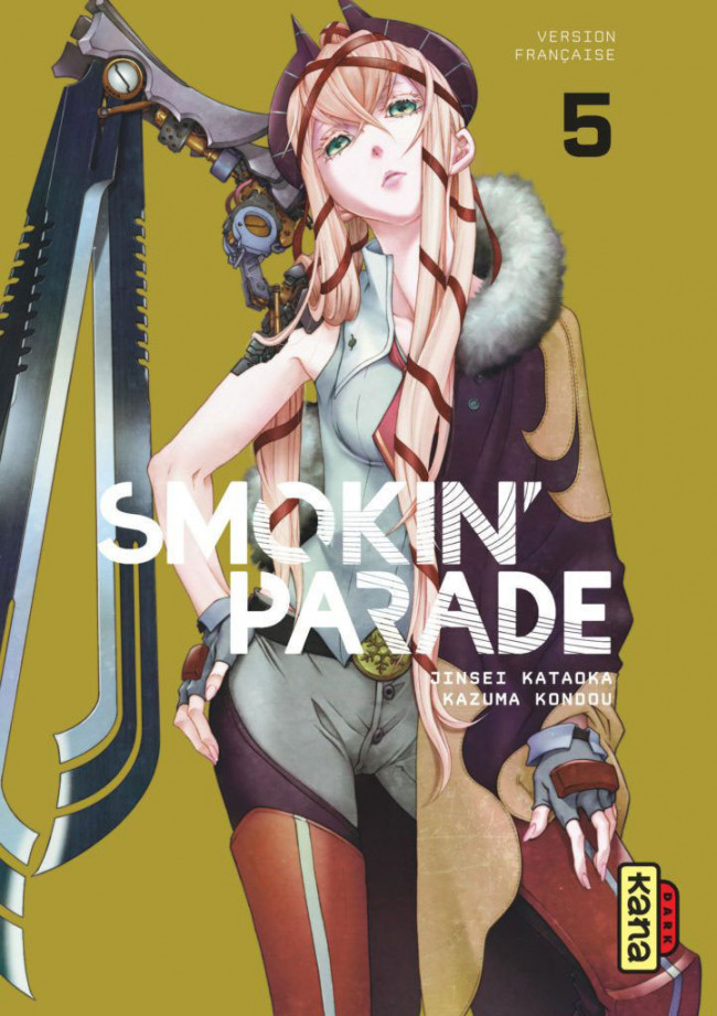Couverture de Smokin' parade -5- Tome 5