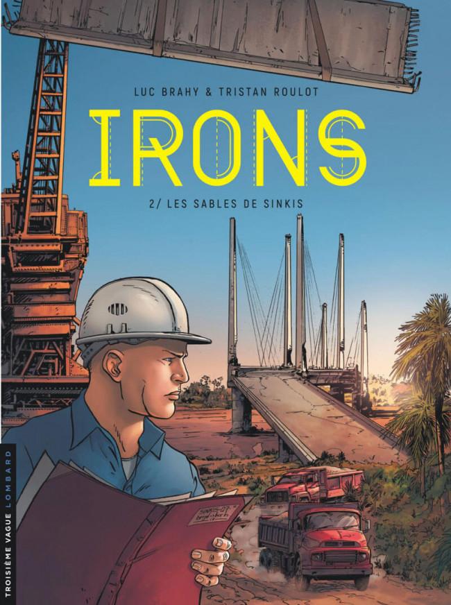 Couverture de Irons -2- Les sables de Sinkis