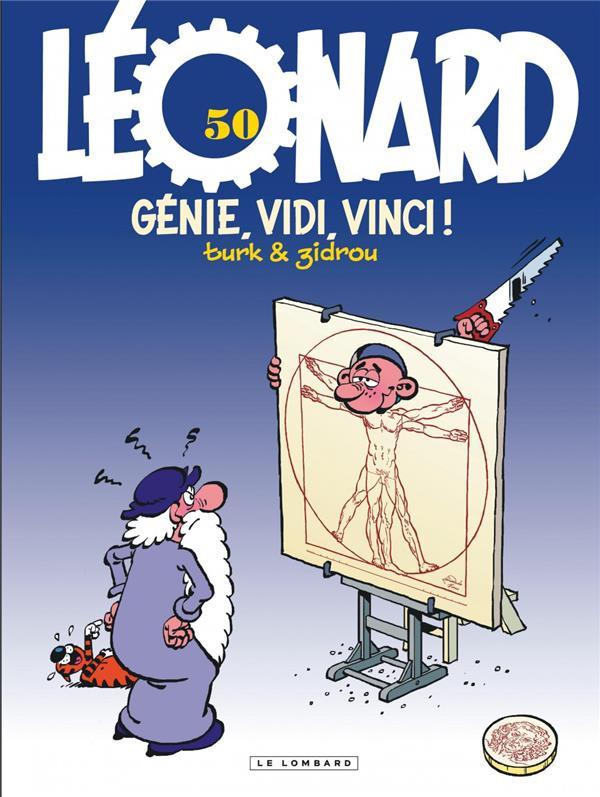 Couverture de Léonard -50- Génie, vidi, vinci !