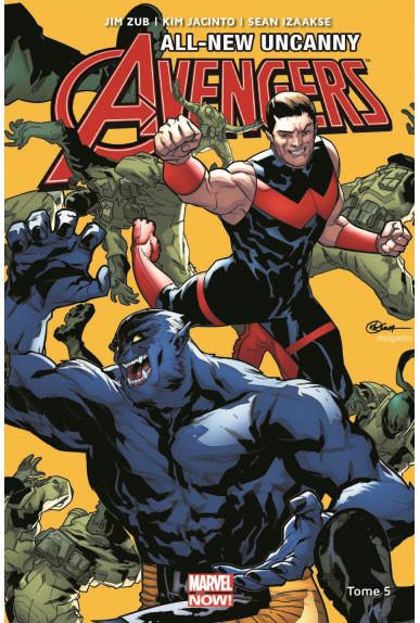 Couverture de All-New Uncanny Avengers -5- Tome 5