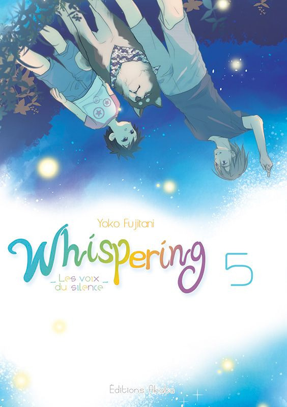 Couverture de Whispering, les voix du silence -5- Tome 5