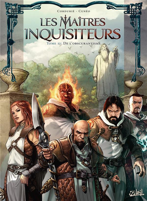 Couverture de Les maîtres Inquisiteurs -12- De l'obscurantisme