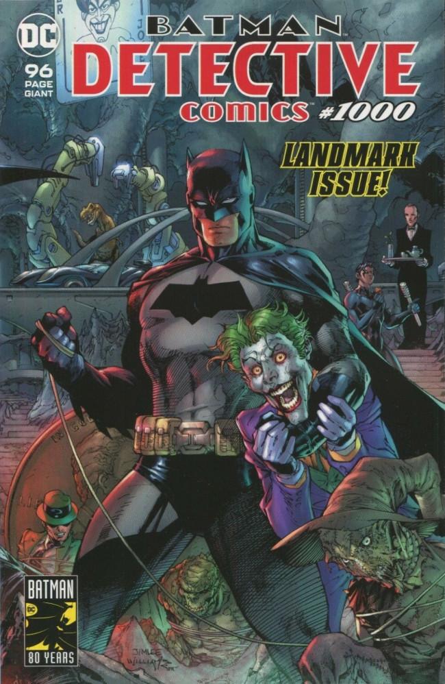 Couverture de Detective Comics (1937), période Rebirth (2016) -1000A- Special Issue