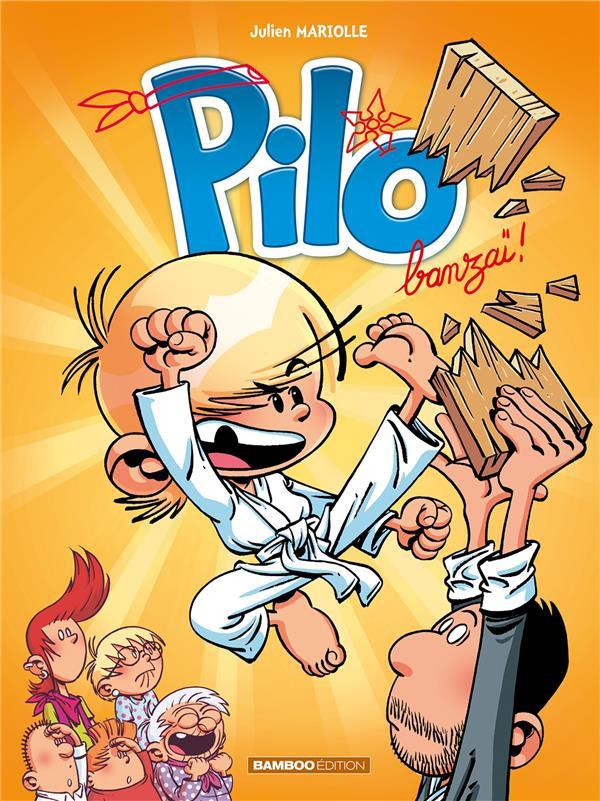 Couverture de Pilo -3- Banzaï !