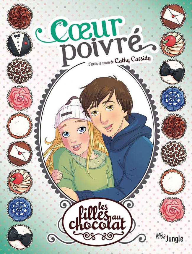 Couverture de Les filles au chocolat -9- Coeur poivré