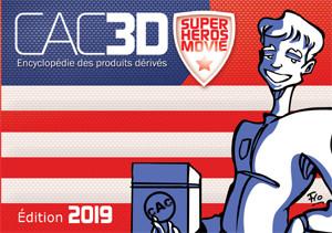 Couverture de (DOC) CAC3D -15- CAC3D - Edition 2019 - Super Héros Movie